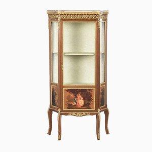 Louis XVI Style Showcase Cabinet