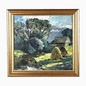 Vladimir Andrienko, Summer Landscape (1926 - 1995, Riga)
