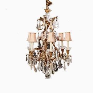 Lustre à 6 Lampes Style Néo-Rococo