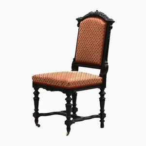Mesa de comedor y sillas estilo Napoleón III. Juego de 12