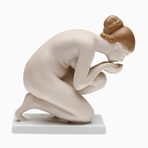 Girl Drinking Water Figure from Rosenthal