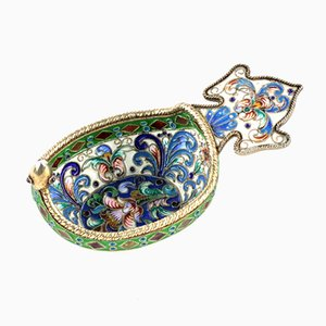 Russian Style Decorative Ladle with Enamel