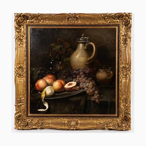 Still Life with Fruit and a Jug, 19th Century