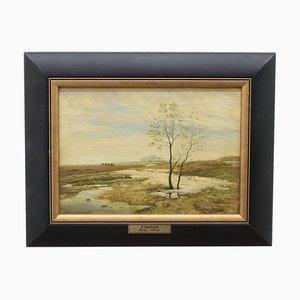 Spring Landscape, I. Pohitonow И. Похитонов, 1890s
