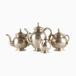 Imperial Russian Silver Tea Service