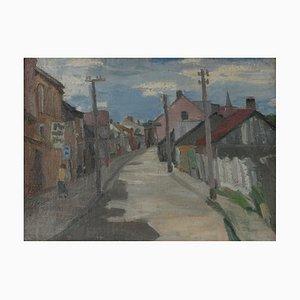 City Landscape, 1920, Oļģerts Jaunarājs