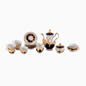 Coffee Service from Meissen, Set of 15