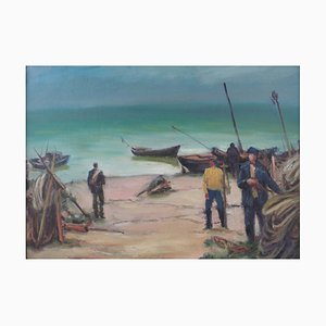 Seascape, Alexander Lagimov, 1903-1990