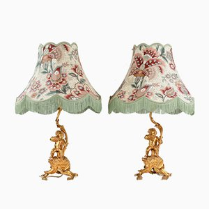 Putti Table Lamps, Set of 2