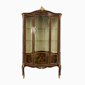 Rococo Gallant Age Showcase Cabinet