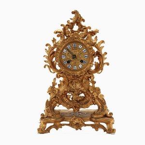 Reloj de repisa estilo rococó