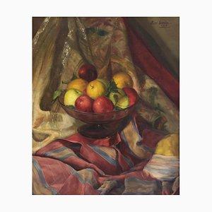 Luis García Oliver, Stillleben mit Äpfeln