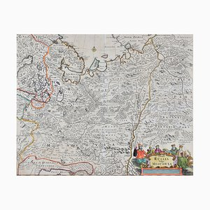 Frederick DeWitt, Mappa della Russia
