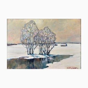 Alexander Ivanovich Misurev, Jnte, Winter Landscape .