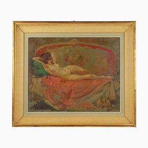Emile Baes, 1889-1953, Nude on a Canape