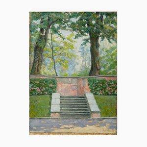 Reval: Staircase in Yekaterinental by Alexander Yakovlevich Kramarev (1886-1975)