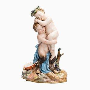 Putti Figurine from Meissen