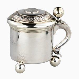 Silver Beer Mug or Cup