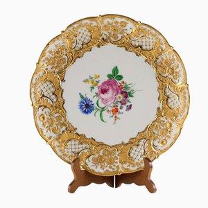 Dekorativer Teller von Meissen