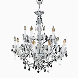 Chandelier with 14 Candles by Giorgio Cavallo for Kare