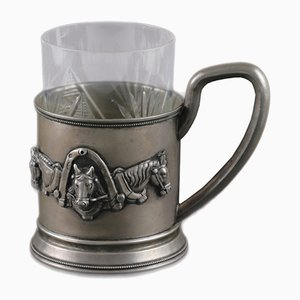 Silver Troika Cup Holder