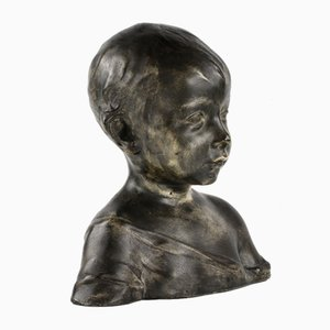 Bust of a Boy in a Tunic by Konstantin Ignatievich Ronchevsky