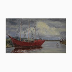 Roberts Šterns (1884-1943), The Red Ship