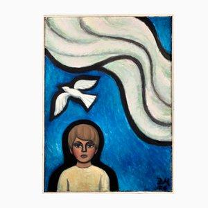 Zenta Muceniece, White Bird, 1970s