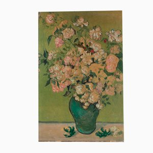 Copia litográfica de la pintura de Van Gogh