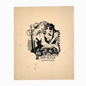 Ex-Libris, Print, Roberta Vītoliņa Gŗamata