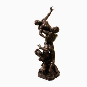 Grupo escultural que representa el secuestro de las sabinas