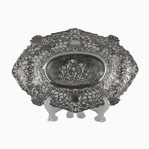 Decorative Silver Dish