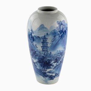 Jarrón Arita chino de porcelana, 1912-26