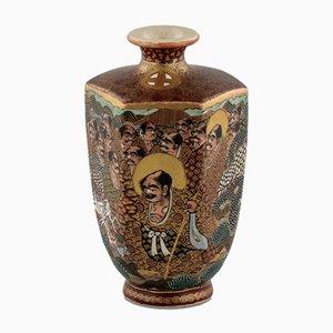 Kleine japanische Satsuma Vase