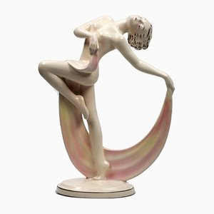 Art Deco Style Figurine of a Dancer