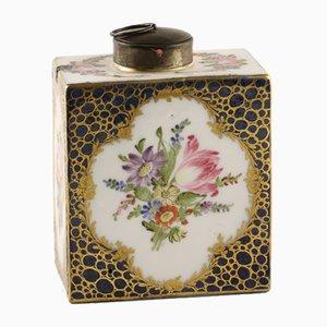 Rectangular Porcelain Teapot from Meissen