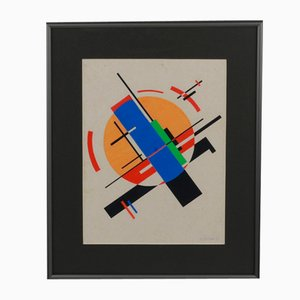 Drawing on Paper, Suprematist Model