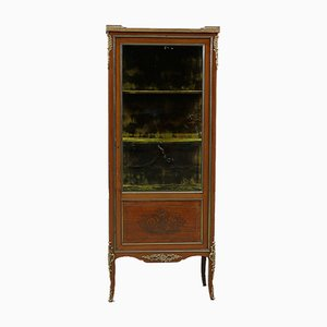 Neoclassical Style Showcase Cabinet