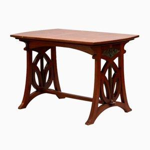Art Nouveau Wooden Table