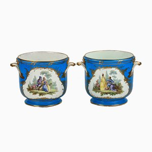 Cachepots from Sevres, Set of 2