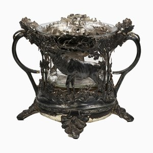 Wine Cooler with Hunting Decoration