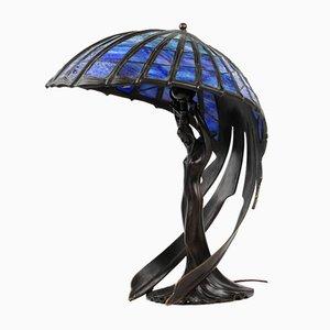 Lámpara al estilo de Tiffany