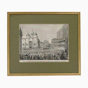 Wedding of the Tsar Engraving