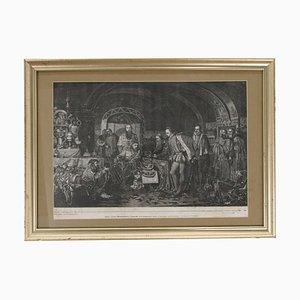 Tsar Ivan the Terrible Engraving