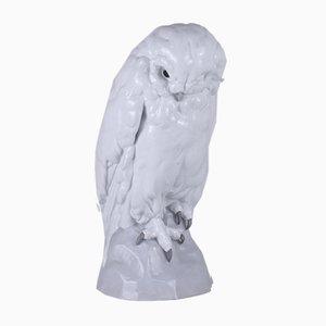 Búho de porcelana de Heubach