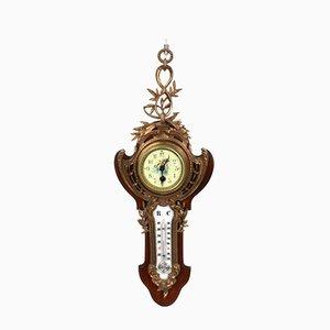 Uhr mit Thermometer