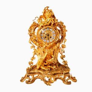Orologio da camino in stile Luigi XV