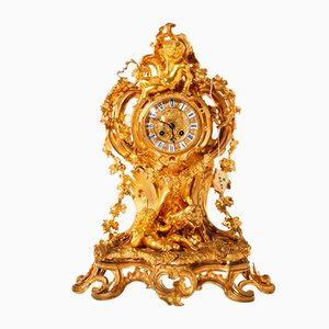 Reloj de repisa estilo Luis XV