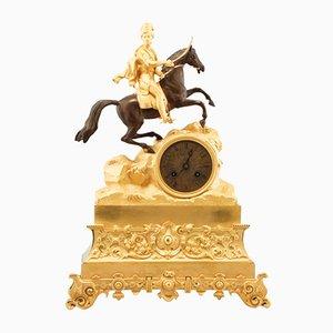Cavalryman Mantel Clock