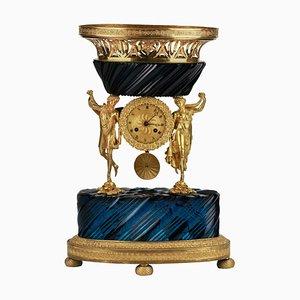 Reloj de repisa ruso zarista, siglo XIX
